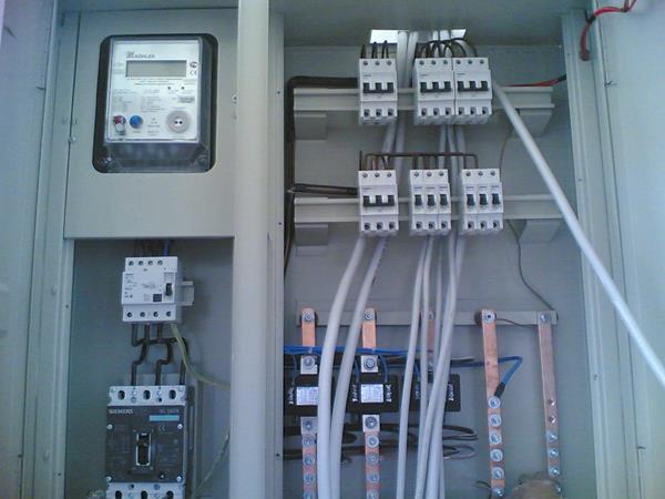 Su tesisatı ve Elektrik tesisatı